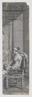 Scenic - Panel, Psyche Offering to Venus