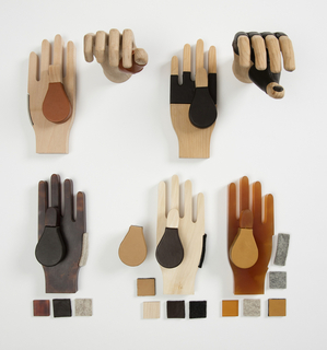 Prosthetic Hands, Hands of X (3 sets), 2017