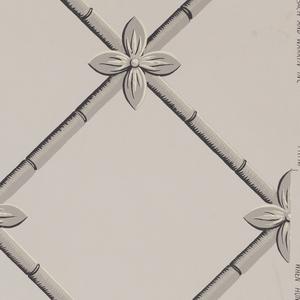 Sidewall And Border, Palm Lattice
