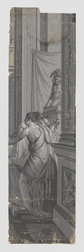 Scenic - Panel, Psyche at Her Bath