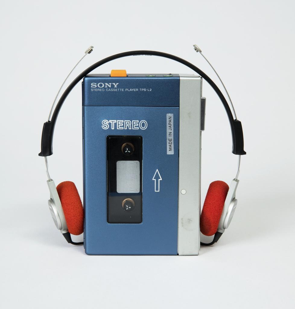 TPS-L2 Walkman Portable Cassette Player And Headphones