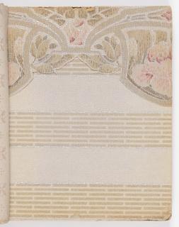 Sample Book, Alfred Peats Wallpaper, No. 3