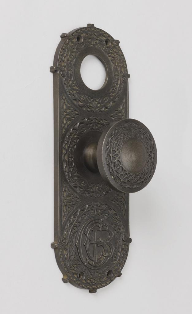 Doorplate (USA), ca. 1895