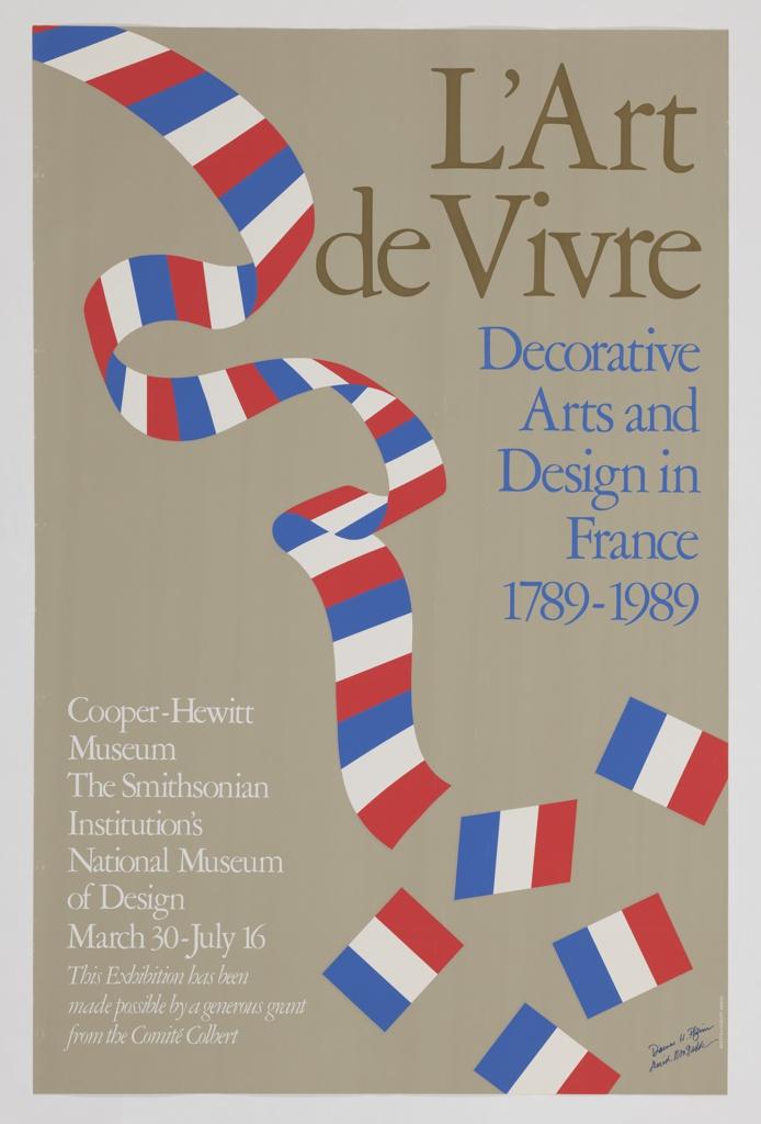 Poster, L'Art de Vivre: Decorativ, ca. 1989