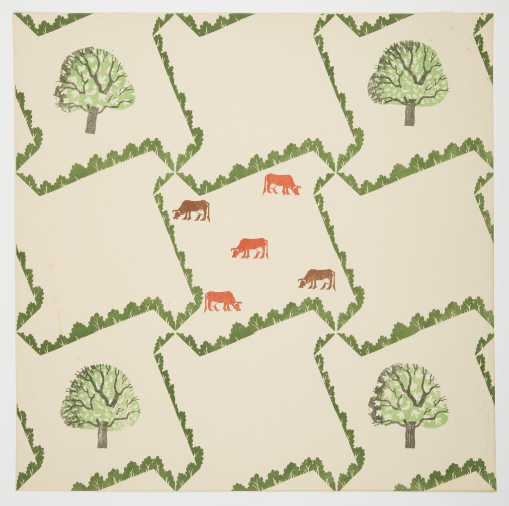 Sidewall, Tree & Cow