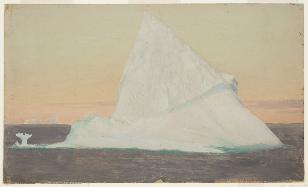 Drawing, Iceberg and Ice Flower