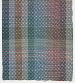 Color blanket for bedspread or upholstery fabric for hotels.