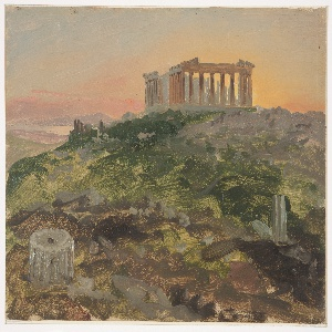 Drawing, The Parthenon from the Southeast