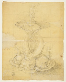 Drawing, Design for a Centerpiece