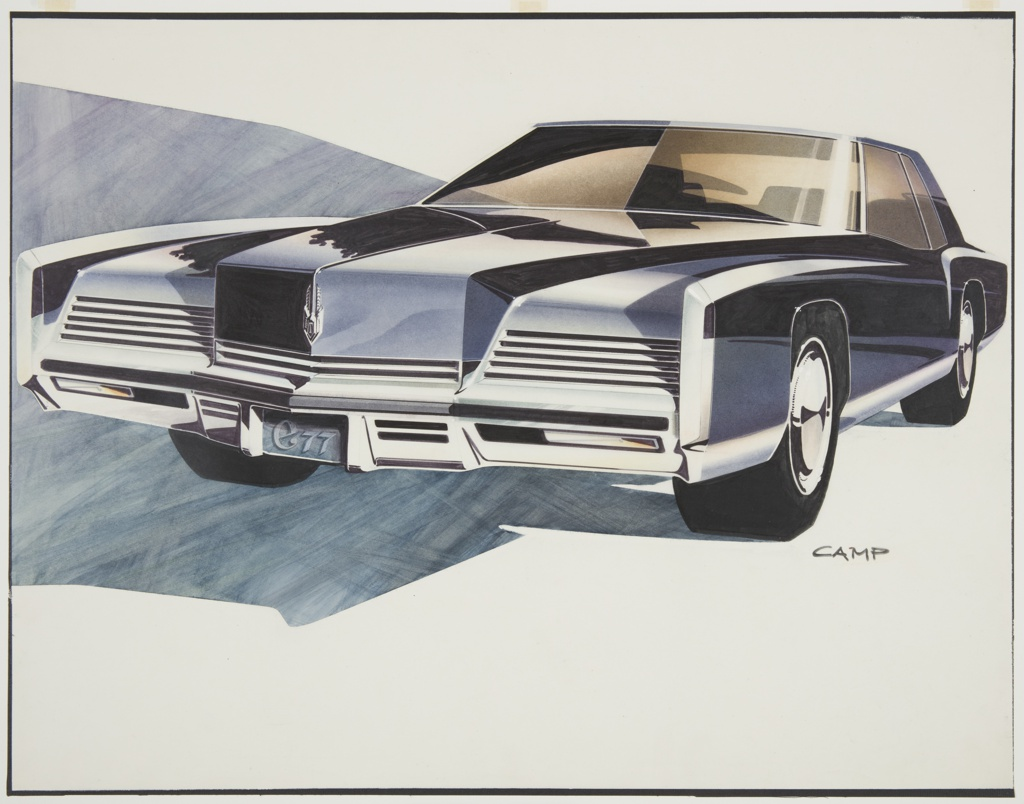 Drawing, Oldsmobile Concept