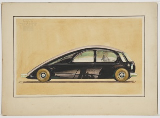 Drawing, Concept Car