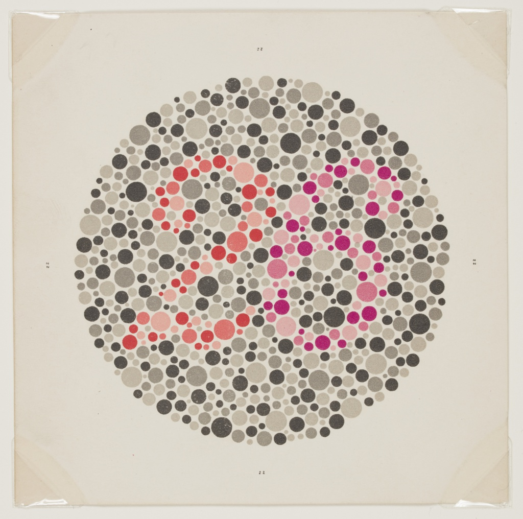Book, The Series of Plates Designed as Tests for Colour Blindness, 1936
