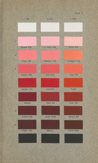Book, Color Standards and Color Nomenclature, 1912