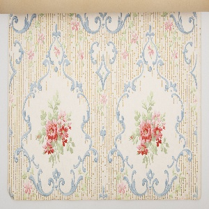 Approximately thirty different patterns all available as matched sets of sidewall, border, and ceiling paper. Each pattern is shown in multiple colorways.