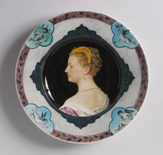 Plate (France), ca. 1885