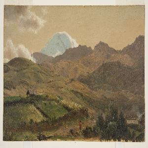 Drawing, Mount Chimborazo, Ecuador