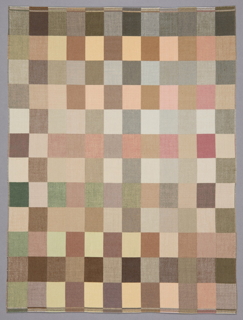 Textile, Toned Rectangles, 1986
