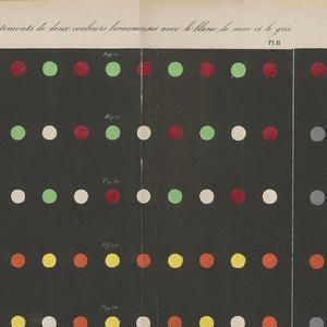 Book, De la Loi du Contraste Simultané des Couleurs (From the Law of Simultaneous Contrast of Colors), 1839