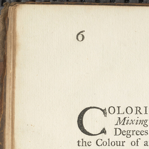 Book, Coloritto, or, The Harmony of Colouring in Painting