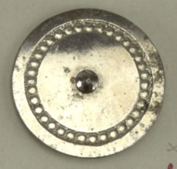 Steel Buttons, England and France, 18th and 19th Centuries Button Card