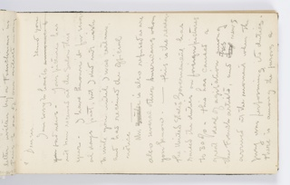 "Copy of letter from a Frenchman (not named) about the refusal of pictures by American artists, including Kenyon Cox, from the Salon because ""the United States Government has raised the duties on foreign pictures to 30%."" Letter continues on verso."