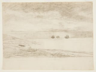 Drawing, Seascape, Prout's Neck, Maine