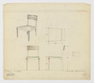 Drawing, Sidechair