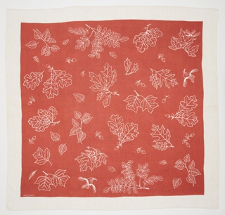 Tablecloth, Leaves, 1939