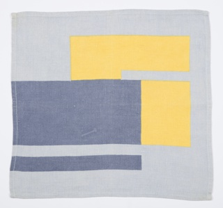 Tablecloth in blue/yellow colorway