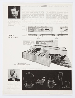 "Loose page, page #5, from ""Architectural Forum"" magazine ."
