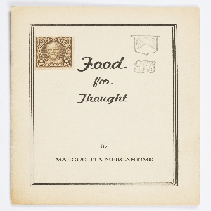 Booklet, Food for Thought