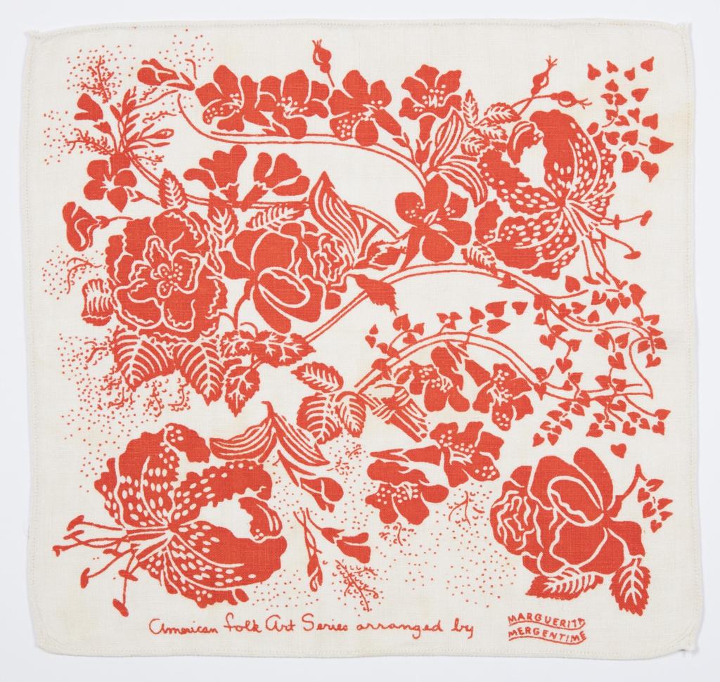 American Folk Art Series, arranged by Marguerita Mergentime