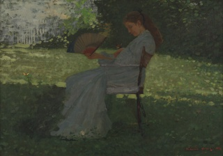 Painting, The Butterfly