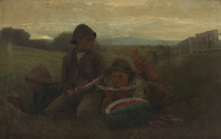 Painting, The Watermelon Boys, 1876