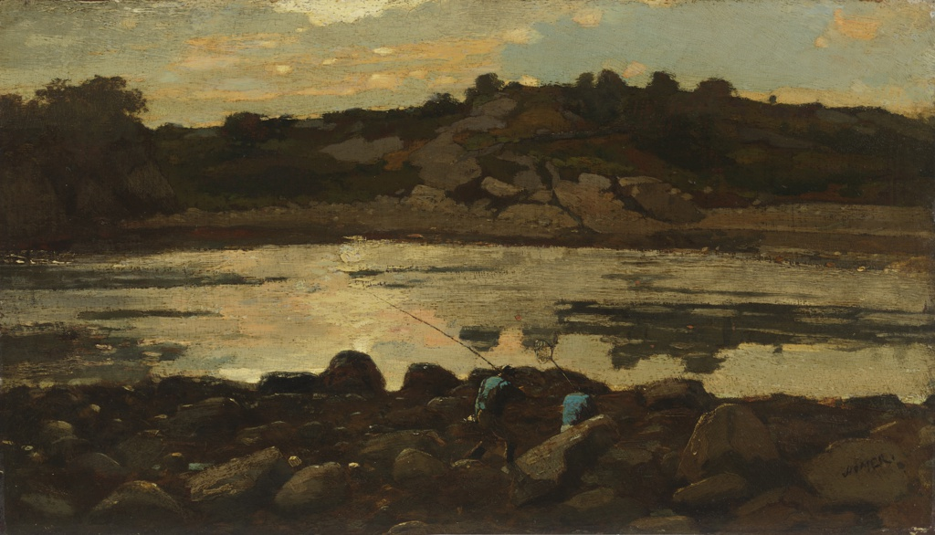 Painting, Lobster Cove, Manchester, Massachusetts