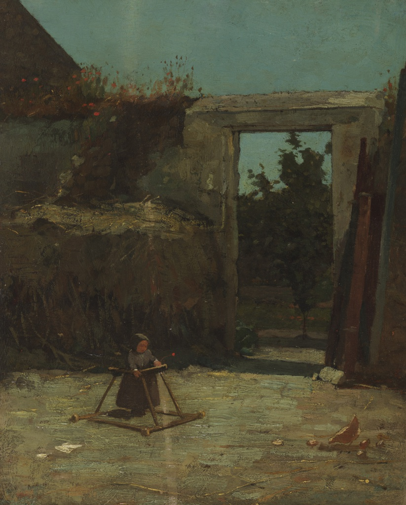 Painting, The French Farmyard