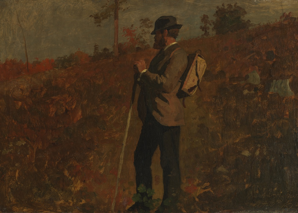 Painting, Man with a Knapsack