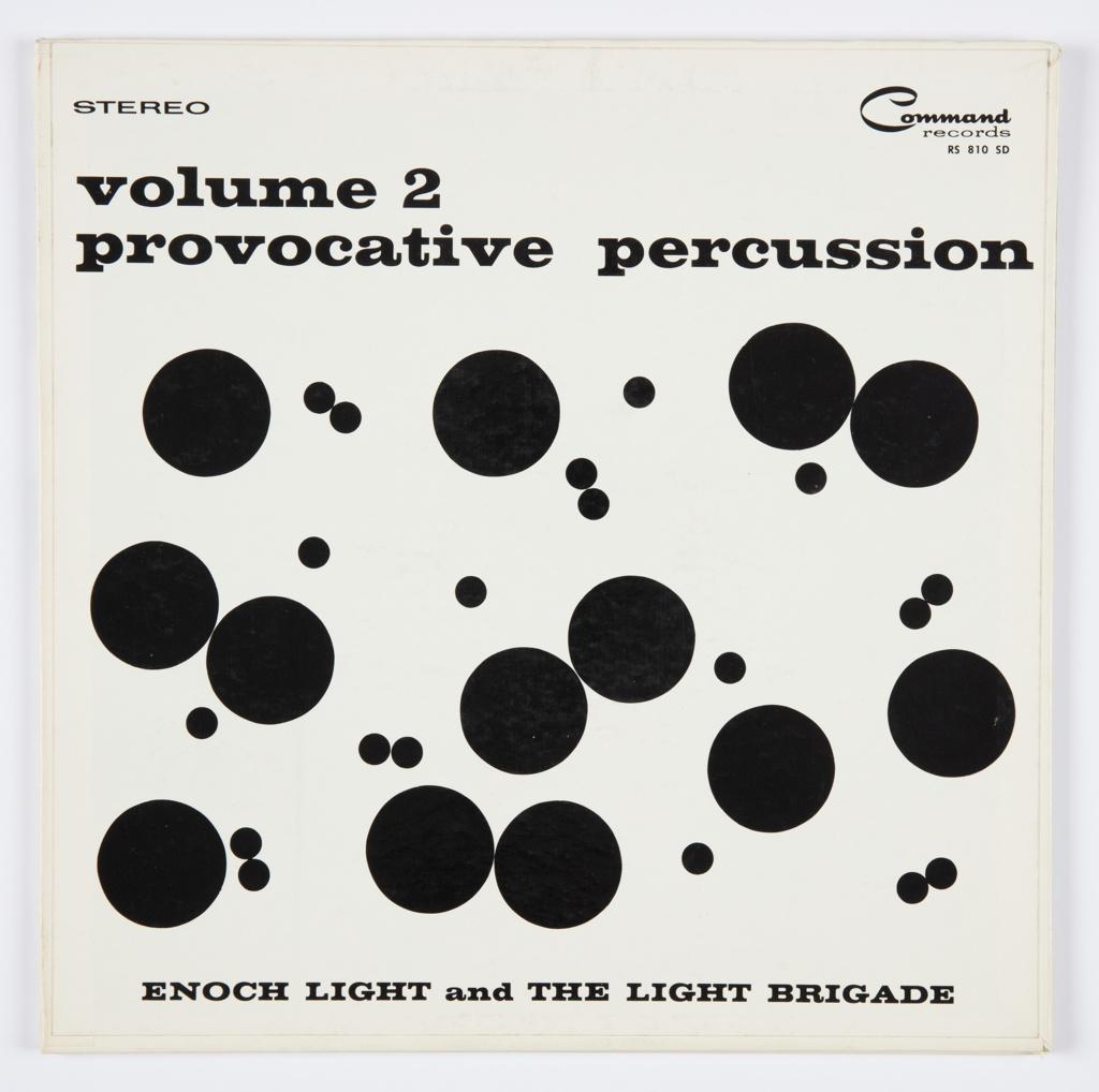 Album Cover, Provocative Percussion, Volume 2, 1961