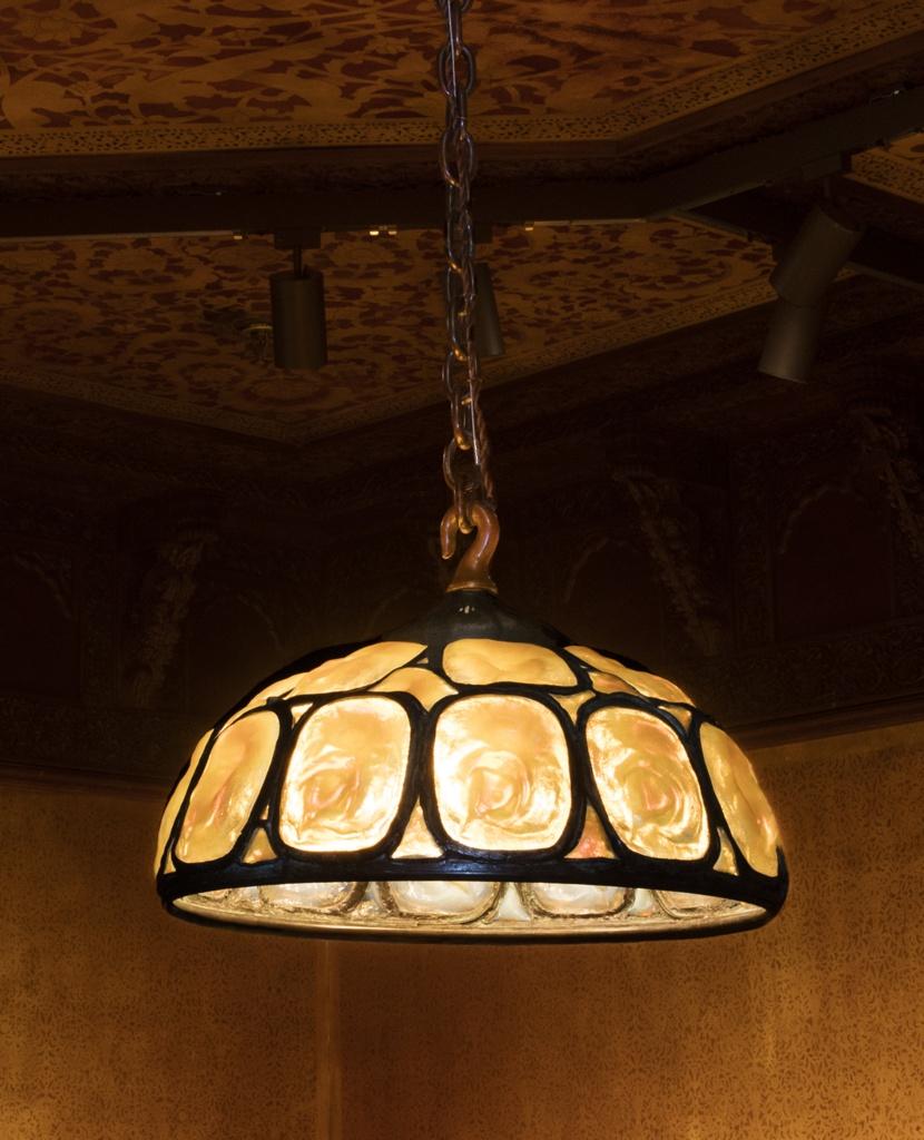 Chandelier, Turtleback Tile