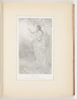 Ephemera, Flowers of the Air, Illustration for Scribner's Magazine (XVII, No. 2, February 1895, p. 266)