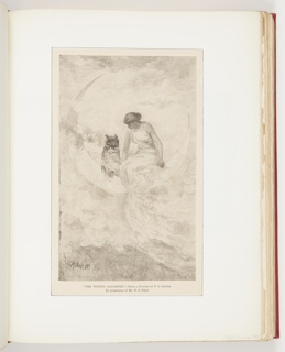 Ephemera, The Witch's Daughter, Illustration for Harper's New Monthly Magazine (CCCXCVIII, No. LXVII, July 1883, frontispiece)