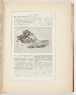 Ephemera, Along the Beach, Illustration for Scribner's Monthly (XVIII, No. 5, September 1879, p. 643)