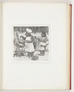 Ephemera, Bears Cooking Pancakes