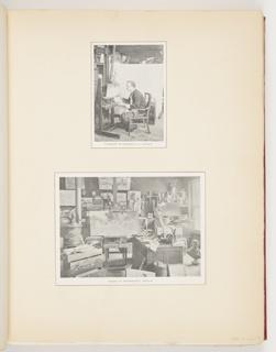 Ephemera, Church and His Studio