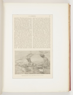 Ephemera, Beneath the Sea, Illustration for Harper's New Monthly Magazine (LXXVIII, No. CCCCLXIII, December 1888, p. 57)