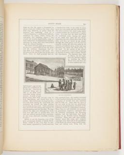 Ephemera, The Old School-House, Illustration for Scribner's Monthly (XVIII, No. 5, September 1879, p. 651)