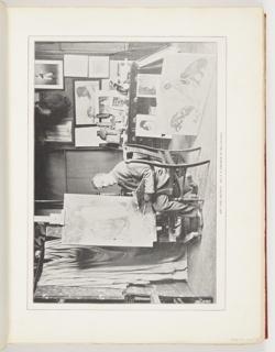 Ephemera, Art and Artists: Mr. F.S. Church in His Studio