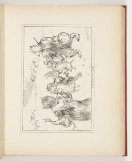 Ephemera, A Thanksgiving Dinner, Illustration for Scribner's Magazine (XVI, No. 6, December 1894, p. 76)