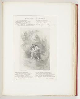 Ephemera, Love and the Witches, Illustration for The Century Magazine (XLII, No. 2, June 1891, p. 286)