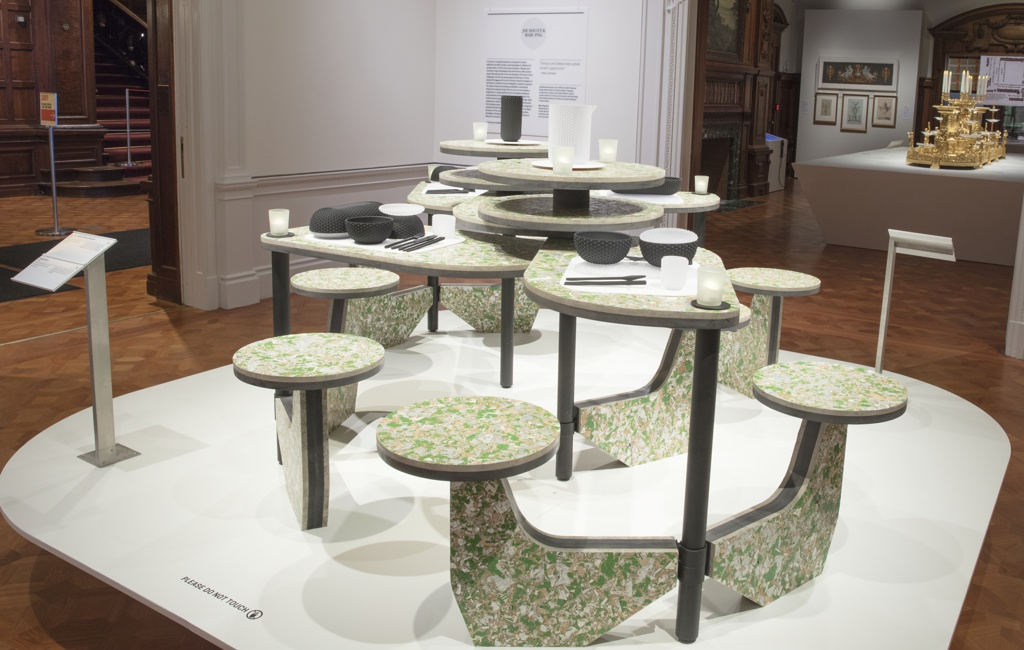 Tables And Seating, Concentric and Decentric, 2018